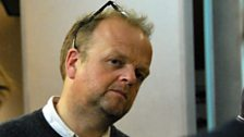 Toby Jones plays Squealer