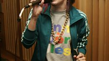 Lady Sovereign in the Live Lounge - 15 Apr 2009 - 4