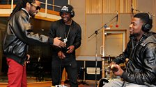 18 May: Skepta in the 1Xtra Live Lounge - 4