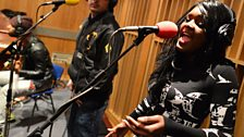 K Koke in the 1Xtra Live Lounge