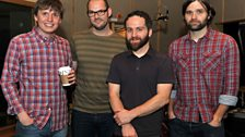 Death Cab for Cutie in session - 2