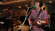 Death Cab for Cutie in session - 13