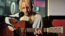Laura Marling in the Live Lounge - 14 Sept 2011 - 1
