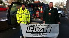 Gary Donoghue and Shaun Taylor from LCAT