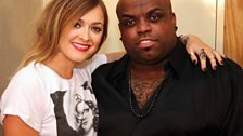 Fearne and Cee-Lo!