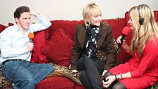 Fearne and Mumatron with Rob Brydon