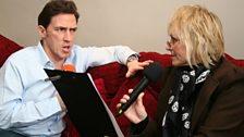 Mumatron interviews Rob Brydon, with her catarrh pastilles