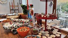 Fearne's festive table