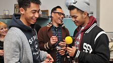 Rizzle Kicks open gifts from Gok