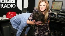 Jack Whitehall and Fearne