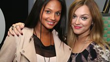 Alesha Dixon and Fearne