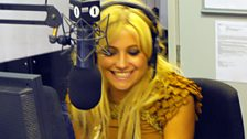 Pixie Lott is asked about being chatted up by Russell Brand...