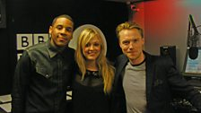 Ronan Keating stopped by the studio.