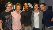 The Boys are Back! McFly help Reggie to present the Chart Show