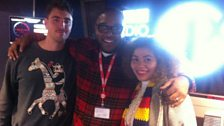 Rich and Zoe with Mistajam
