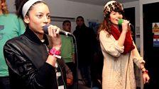 Mz Bratt & Yasmin aka Salt 'n Pepa doing Hip Hop karaoke