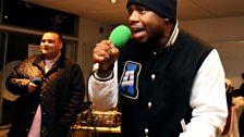 J2K mid flow as the Notorious B.I.G on Hip Hop karaoke