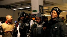 Manga & J2K from Roll Deep with Footsie & D Doule E from Newham Generals