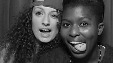1Xtra Clubbers in our photobooth!