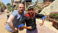 Joe and Popeye!