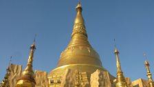 Shwedagon pagoda – visible across Rangoon