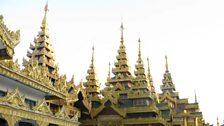 Shwedagon pagoda in central Rangoon, 19 Dec 2012