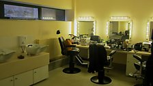 Make-up department