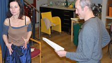 Stephen Dillane and Kate Fleetwood play Scarpia and Tosca in Tosca's Kiss