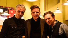 JD McPherson and Jimmy Sutton with Ricky Ross