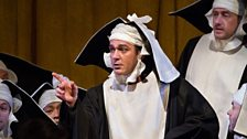 "Nathan Gunn as Raimbaud in Rossini's ""Le Comte Ory."""