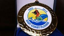 Flood medallion, presented to the flood survivors