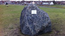 The new 1953 flood memorial in Mablethorpe