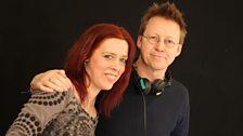 Folk star Kathryn Tickell with Simon