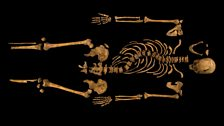 Richard III skeleton
