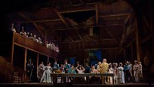 """A scene from Act 2 of Donizetti's """"L'Elisir d'Amore."""""""