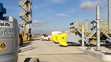 London Gateway:These cranes will move freight around London Gateway.JPG