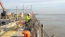 London Gateway Berth 1 in development.JPG