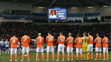 Bloomfield Road pays tribute to Oatesy