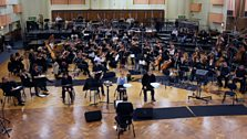 The BBC Symphony Orchestra, BBC Singers and Cast get used to working together