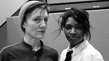 Harriet Walter & Jenny Jules have been performing Julius Caesar on stage.