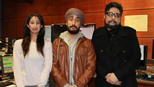 Comedian Jus Reign joins Bobby and Anushka in the studio