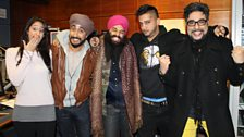 Comedians Jus Reign, Babbu and Rupan Bal cause mayhem in the studio with Bobby and Anushka