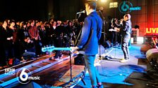Everything Everything at 6 Music Live