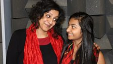 Meera Syal and Rhea Somaiya as Indir and Durga