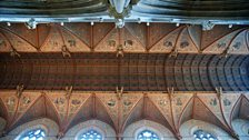 Ceiling in St Patrick's Cathedral, Armagh