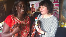 Theresa, who learnt the skills to make soaps and cleaning products and set up her own business
