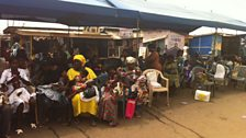 The vaccination clinic visited by Jane