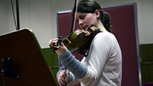 Veronika Eberle recording