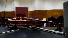 Veronika's violin