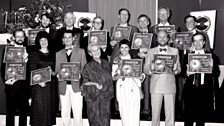 Tallis Scholars win Gramophone Record of the Year at the Gramophone Awards in 1987.